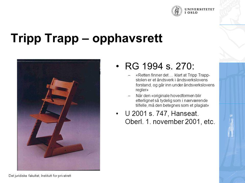 Tripp Trapp – opphavsrett