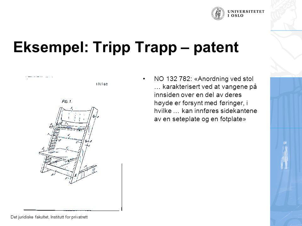 Eksempel: Tripp Trapp – patent