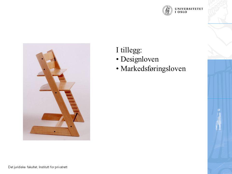 I tillegg: Designloven Markedsføringsloven