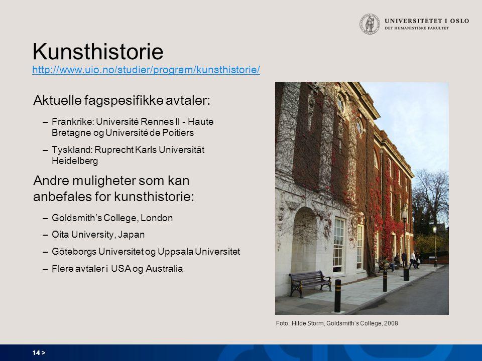 Kunsthistorie http://www.uio.no/studier/program/kunsthistorie/
