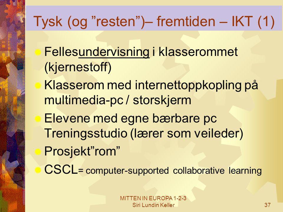 Tysk (og resten )– fremtiden – IKT (1)