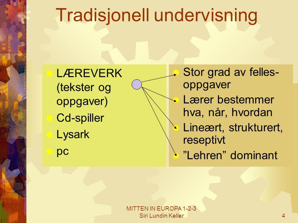 Tradisjonell undervisning