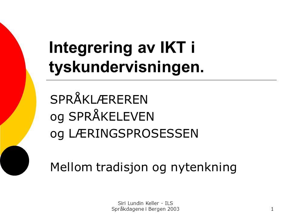 Integrering av IKT i tyskundervisningen.
