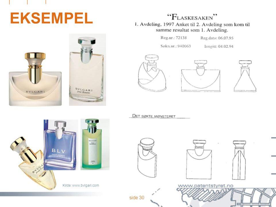 EKSEMPEL Flaskesaken, eksempel fra 2. Avd. Helhetsutseendet Form