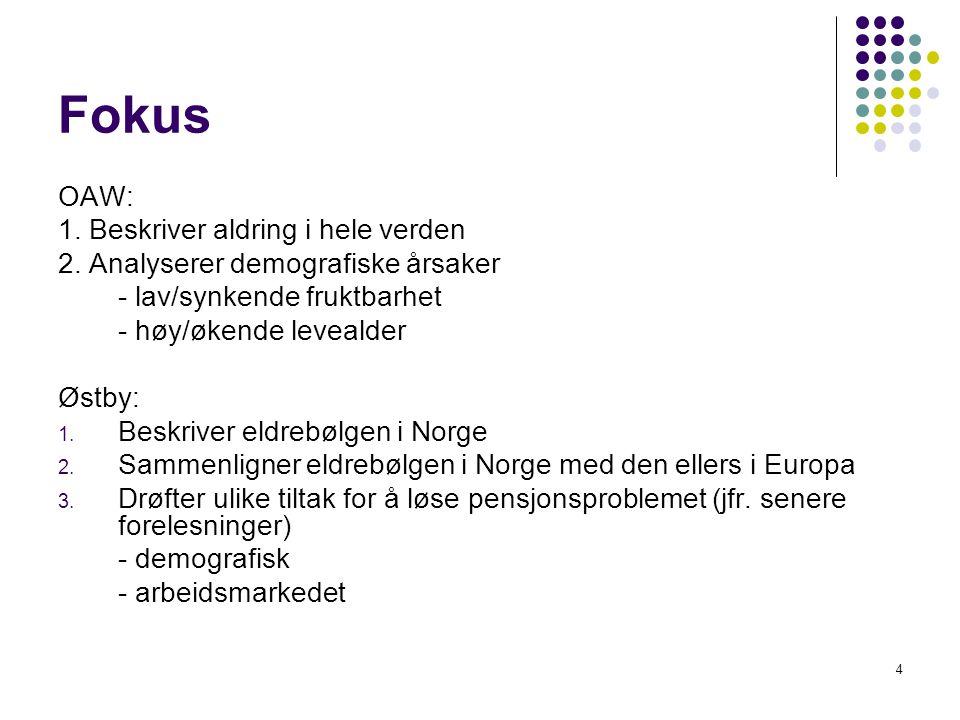 demografiske overgangen i norge