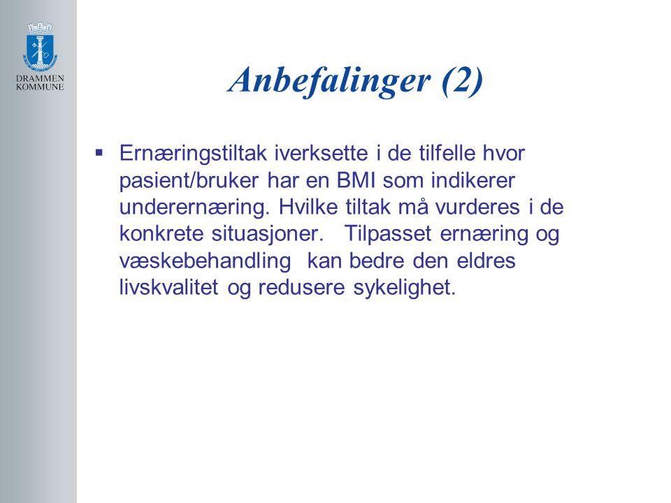 Anbefalinger (2)