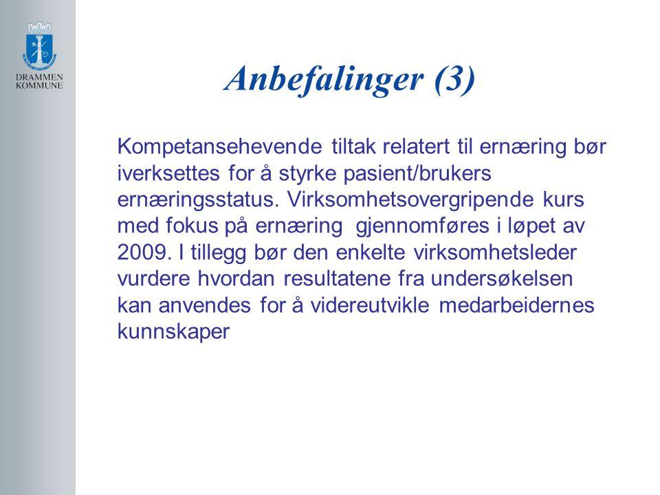 Anbefalinger (3)