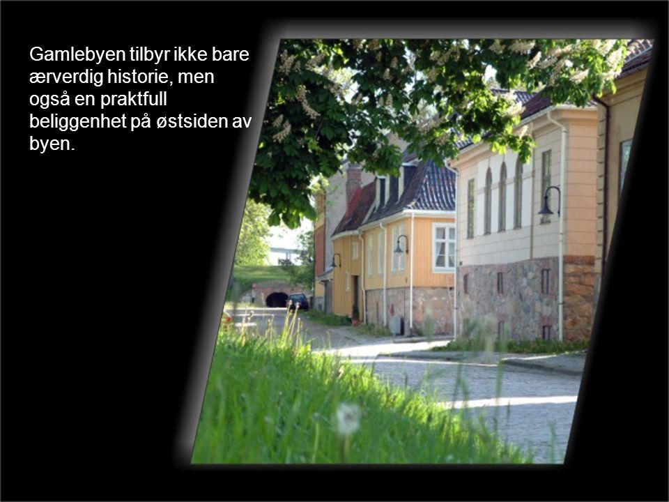 Gamlebyen tilbyr ikke bare ærverdig historie, men også en praktfull beliggenhet på østsiden av byen.