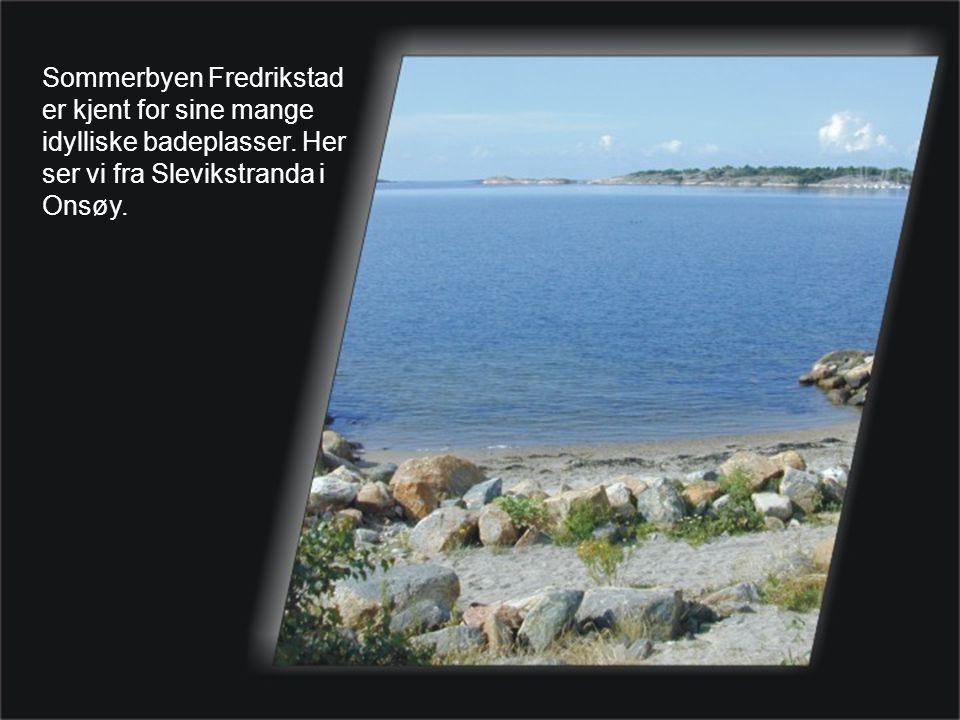 Sommerbyen Fredrikstad er kjent for sine mange idylliske badeplasser