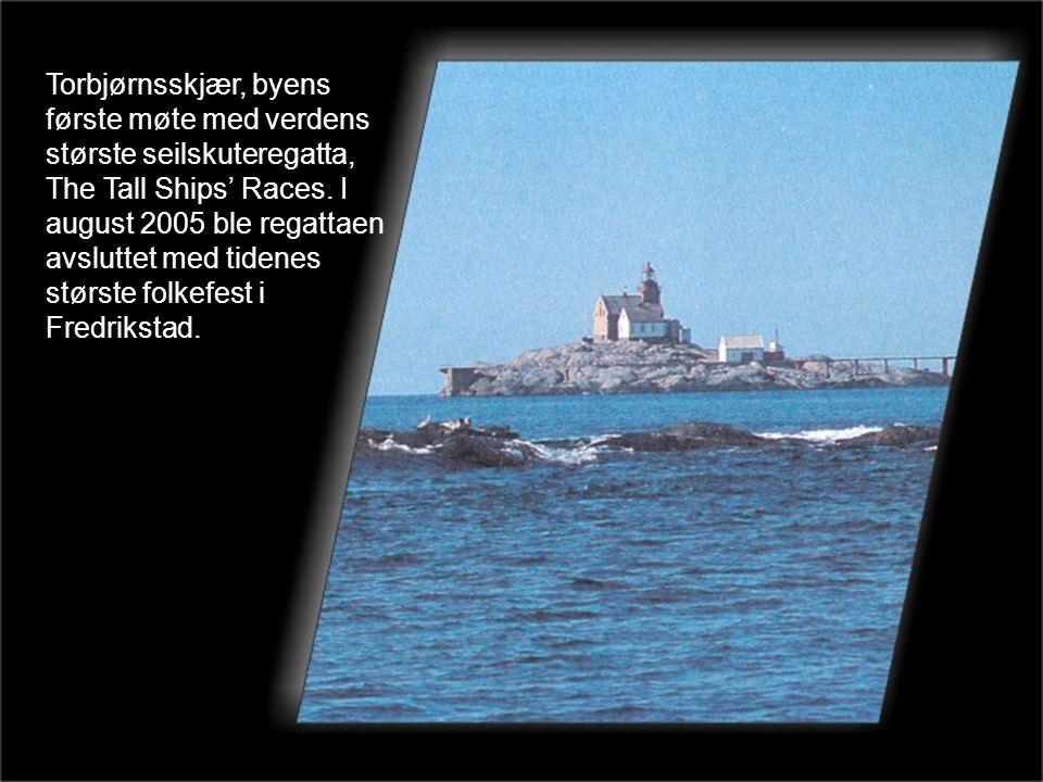 Torbjørnsskjær, byens første møte med verdens største seilskuteregatta, The Tall Ships' Races.