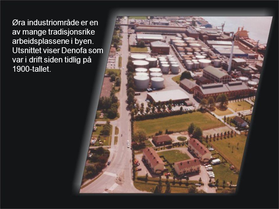 Øra industriområde er en av mange tradisjonsrike arbeidsplassene i byen.