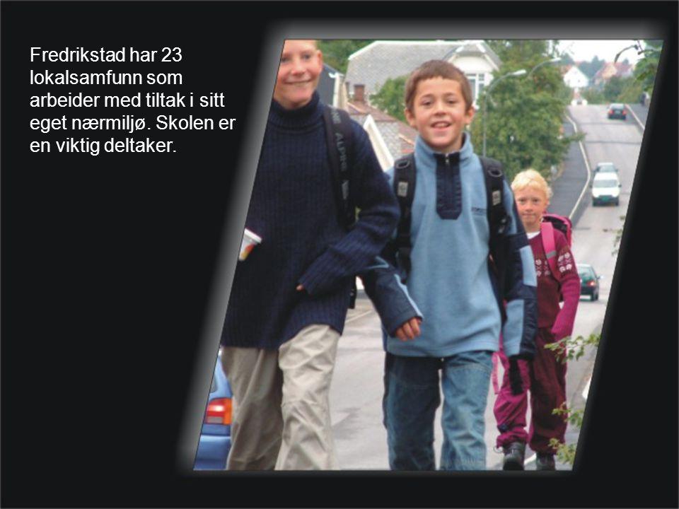 Fredrikstad har 23 lokalsamfunn som arbeider med tiltak i sitt eget nærmiljø.