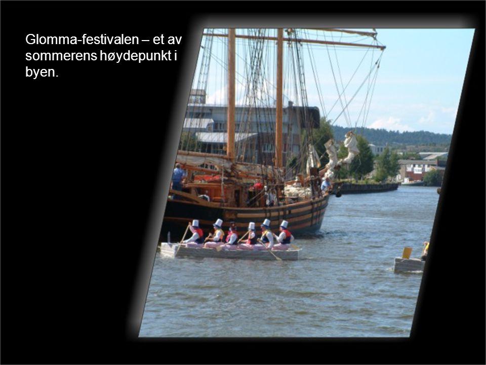 Glomma-festivalen – et av sommerens høydepunkt i byen.