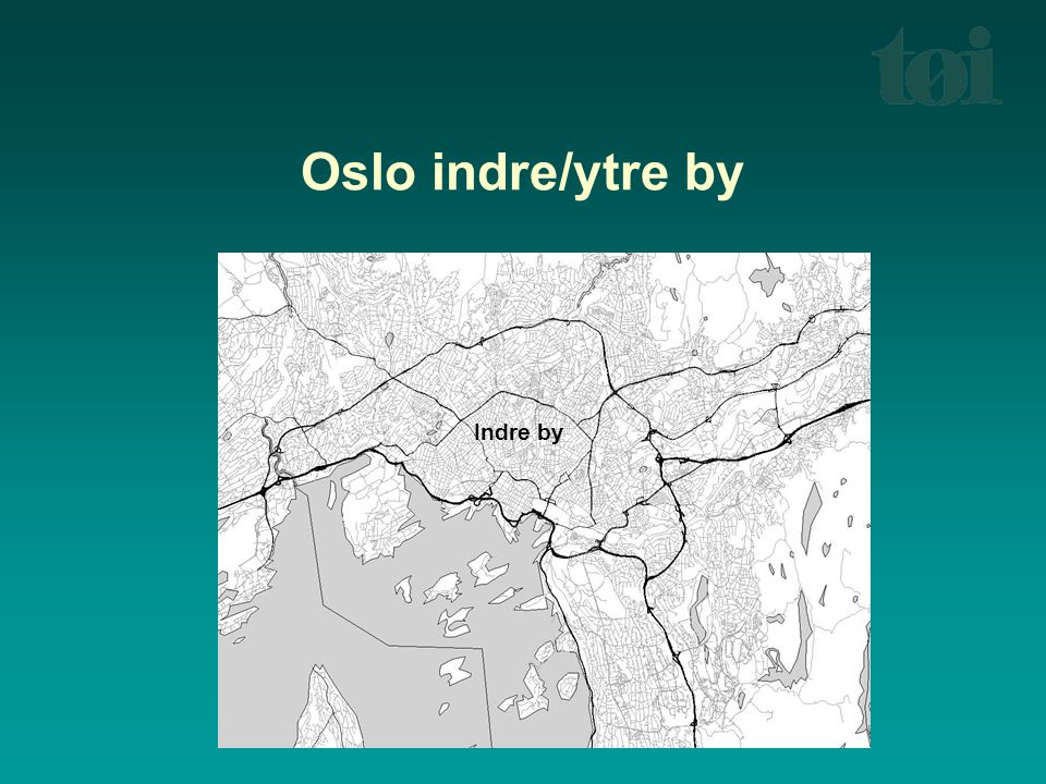 Oslo indre/ytre by Indre by