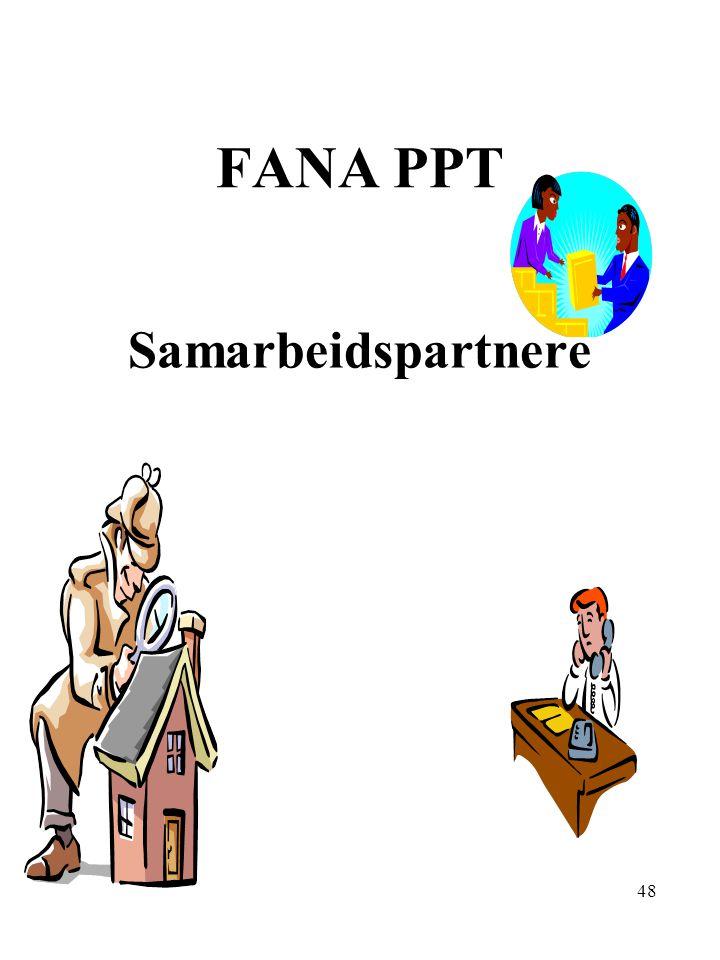 FANA PPT Samarbeidspartnere