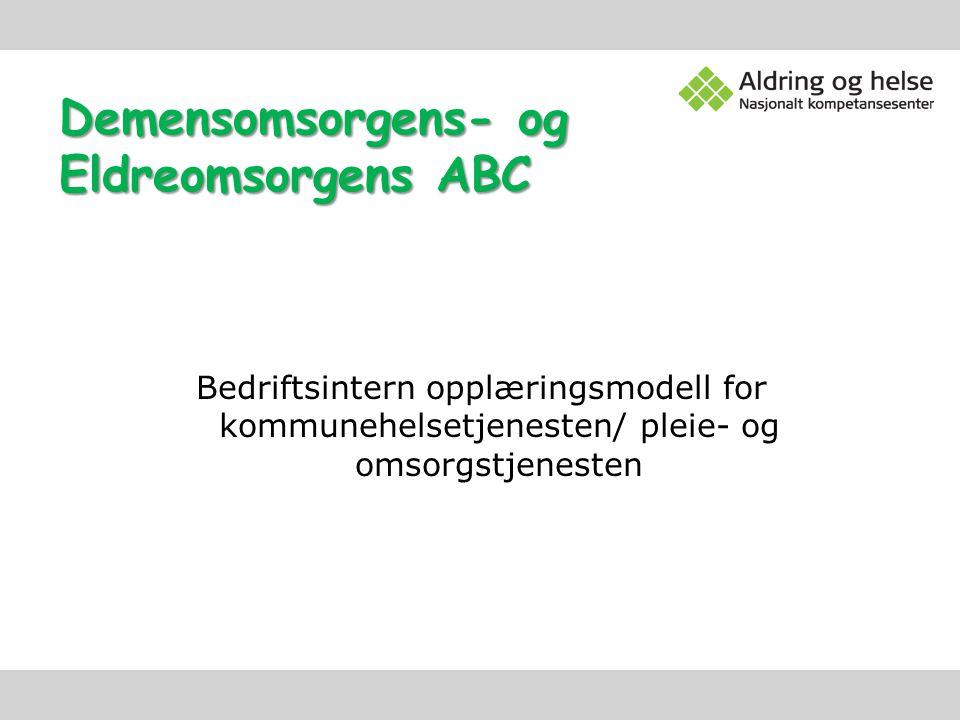 Demensomsorgens- og Eldreomsorgens ABC