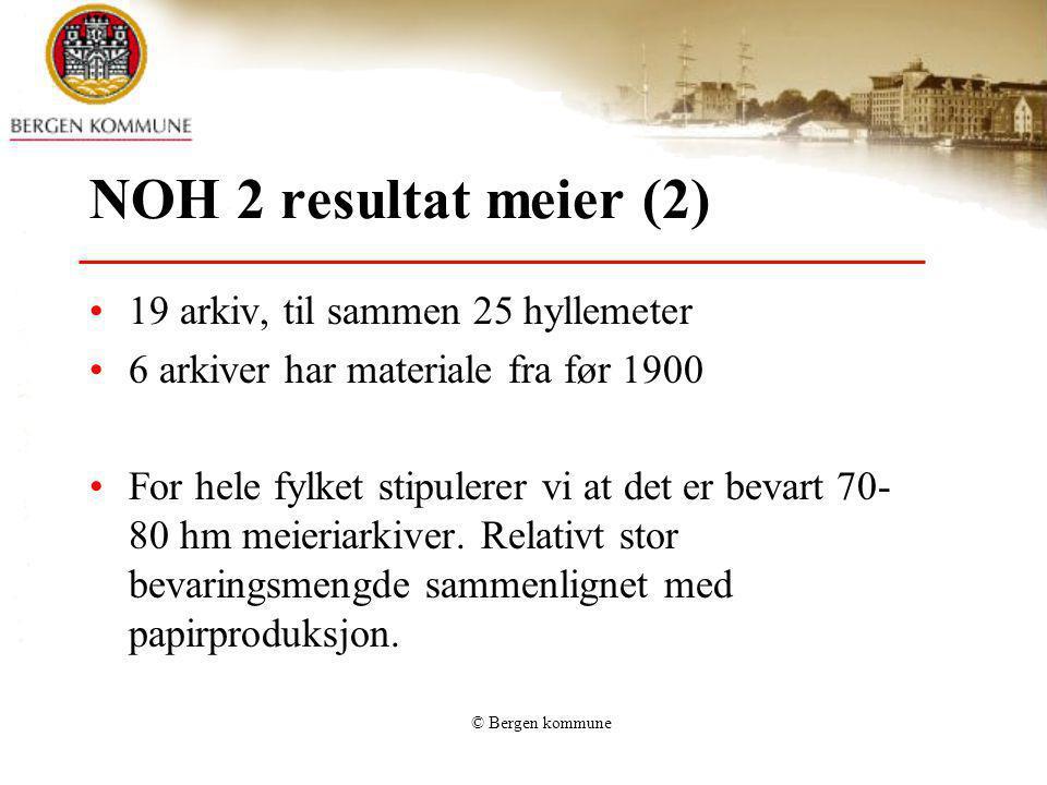 NOH 2 resultat meier (2) 19 arkiv, til sammen 25 hyllemeter