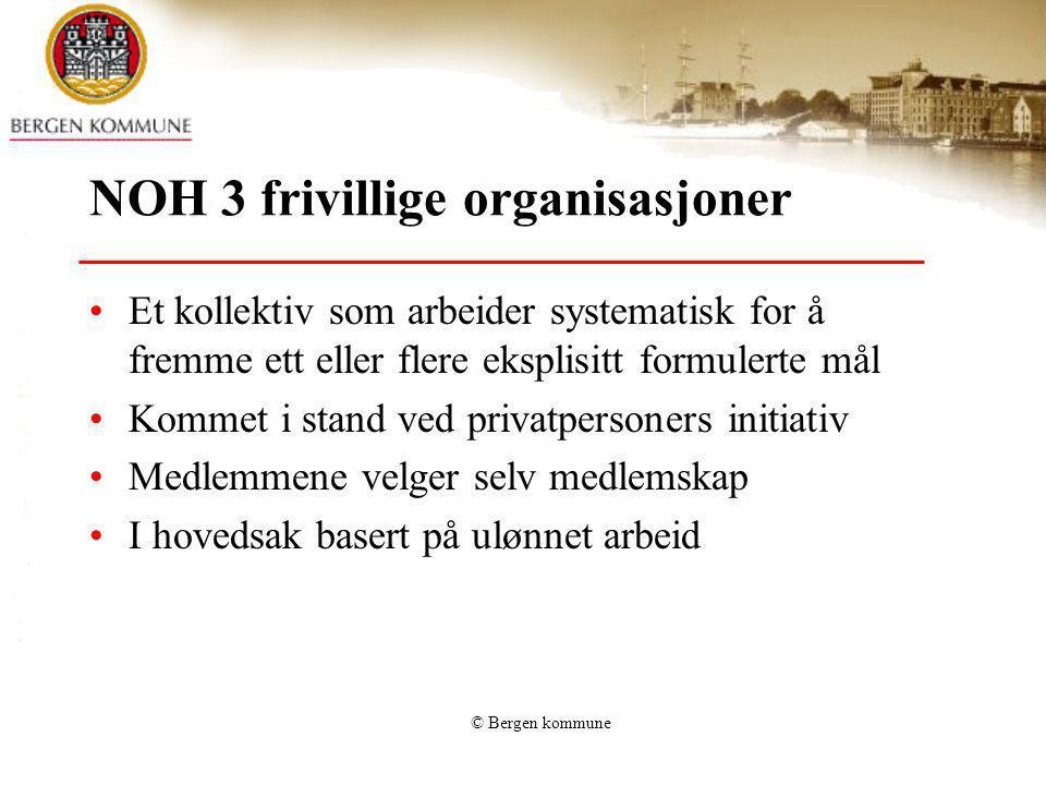 NOH 3 frivillige organisasjoner