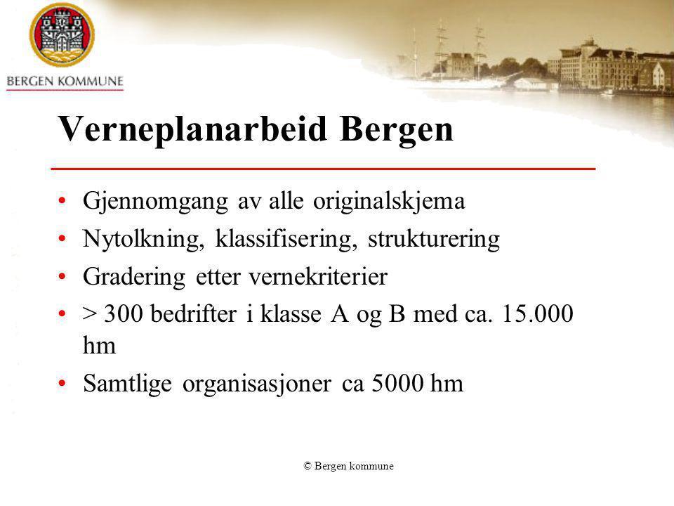 Verneplanarbeid Bergen