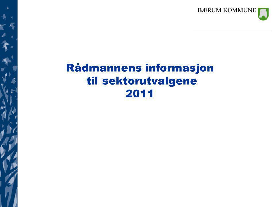 Rådmannens informasjon til sektorutvalgene 2011