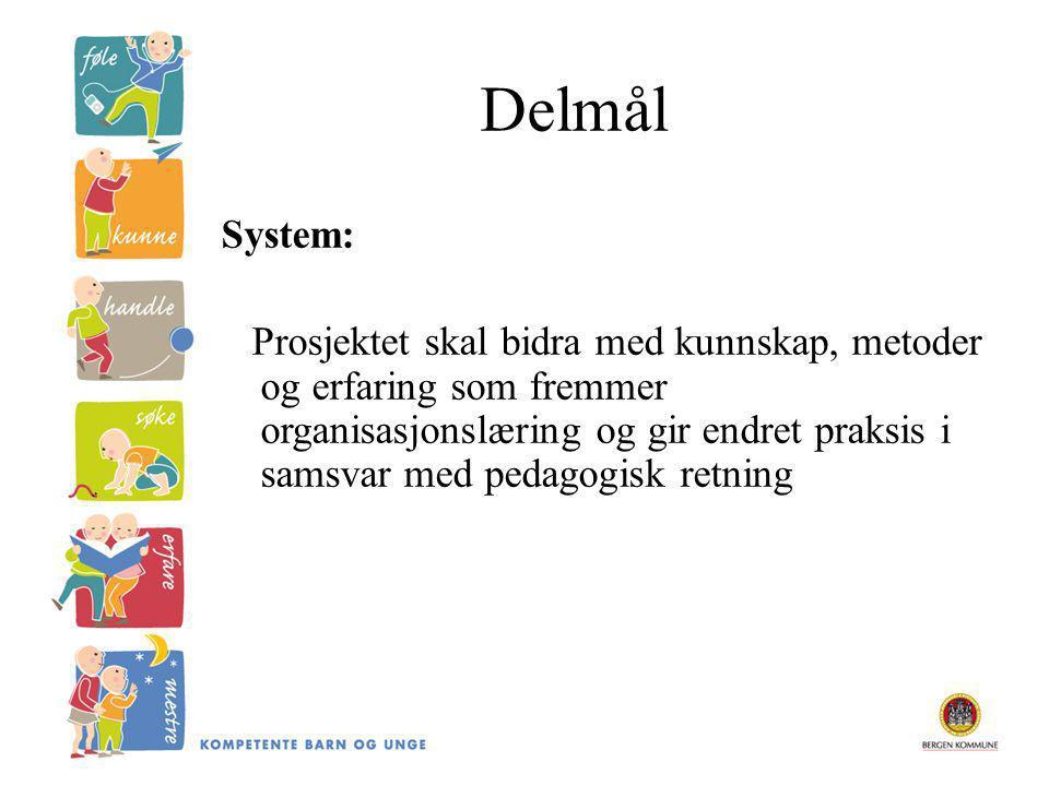 Delmål System: