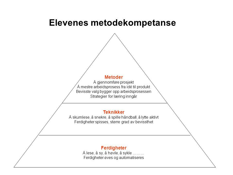 Elevenes metodekompetanse