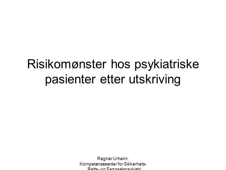 Risikomønster hos psykiatriske pasienter etter utskriving