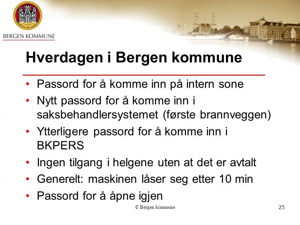 Hverdagen i Bergen kommune