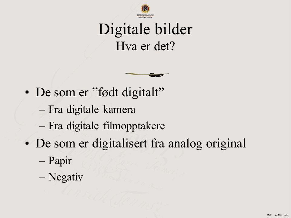 Digitale bilder Hva er det