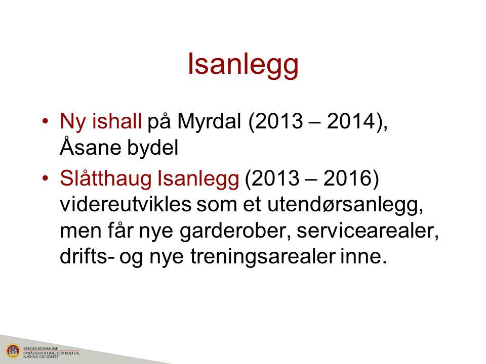 Isanlegg Ny ishall på Myrdal (2013 – 2014), Åsane bydel