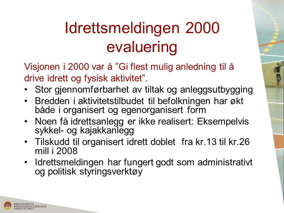 Idrettsmeldingen 2000 evaluering