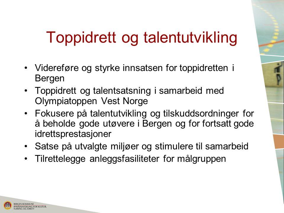 Toppidrett og talentutvikling