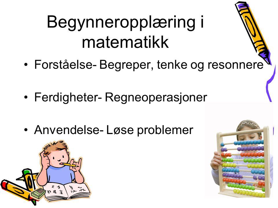 Begynneropplæring i matematikk