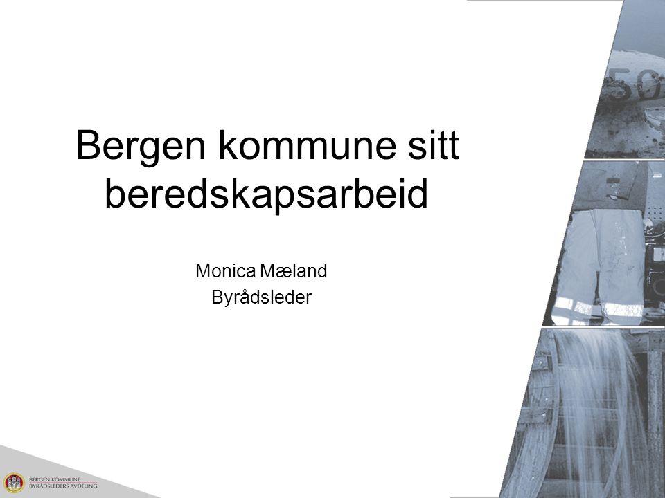 Bergen kommune sitt beredskapsarbeid