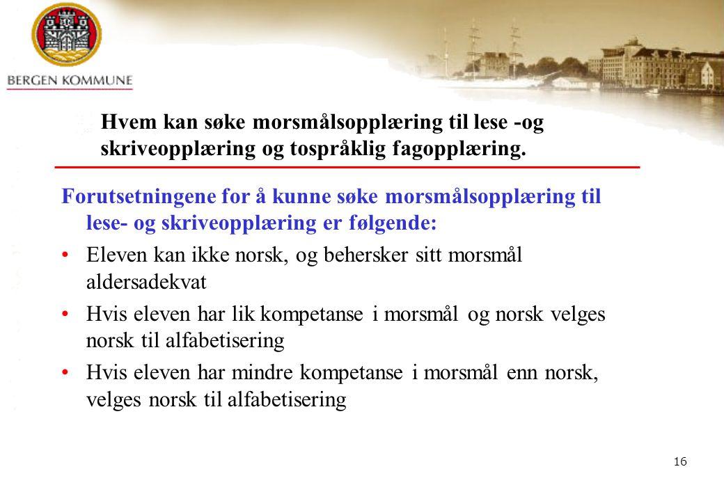 BEFO - Bergen kompetansesenter for flerkulturell opplæring