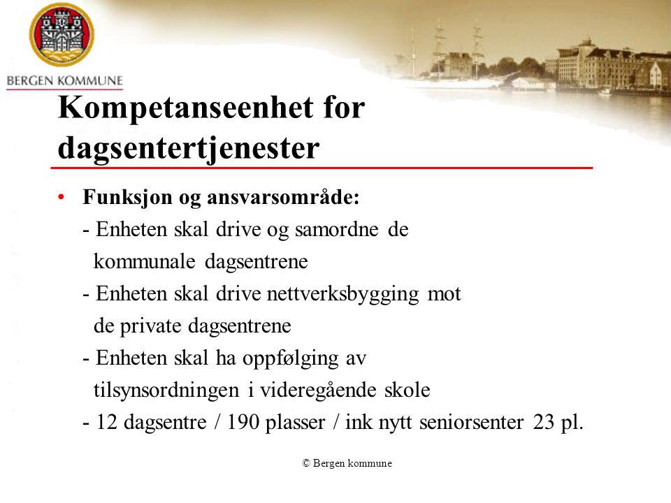 Kompetanseenhet for dagsentertjenester