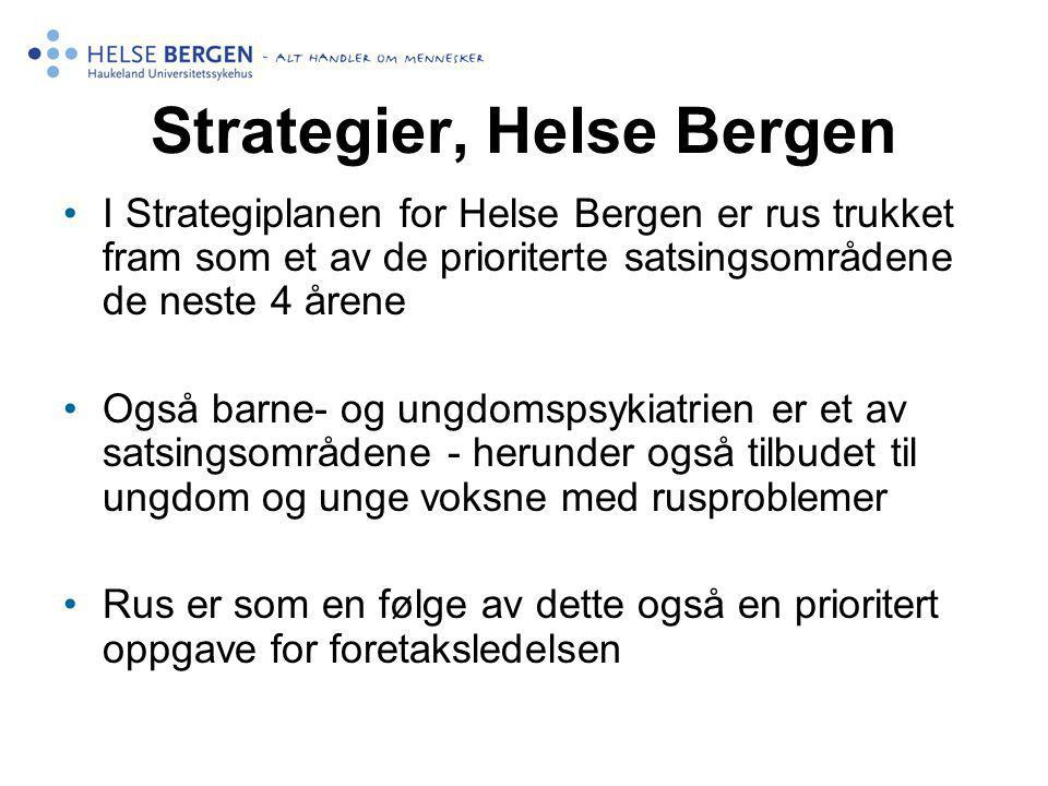 Strategier, Helse Bergen
