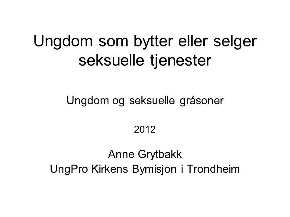 2012 Anne Grytbakk UngPro Kirkens Bymisjon i Trondheim