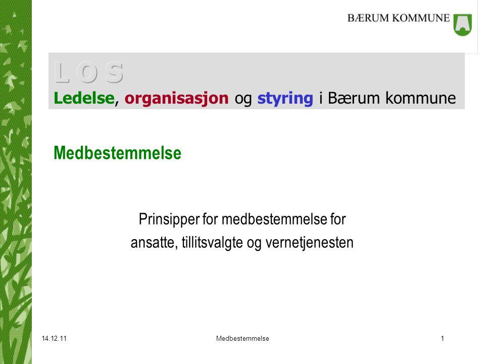 L O S Ledelse, organisasjon og styring i Bærum kommune
