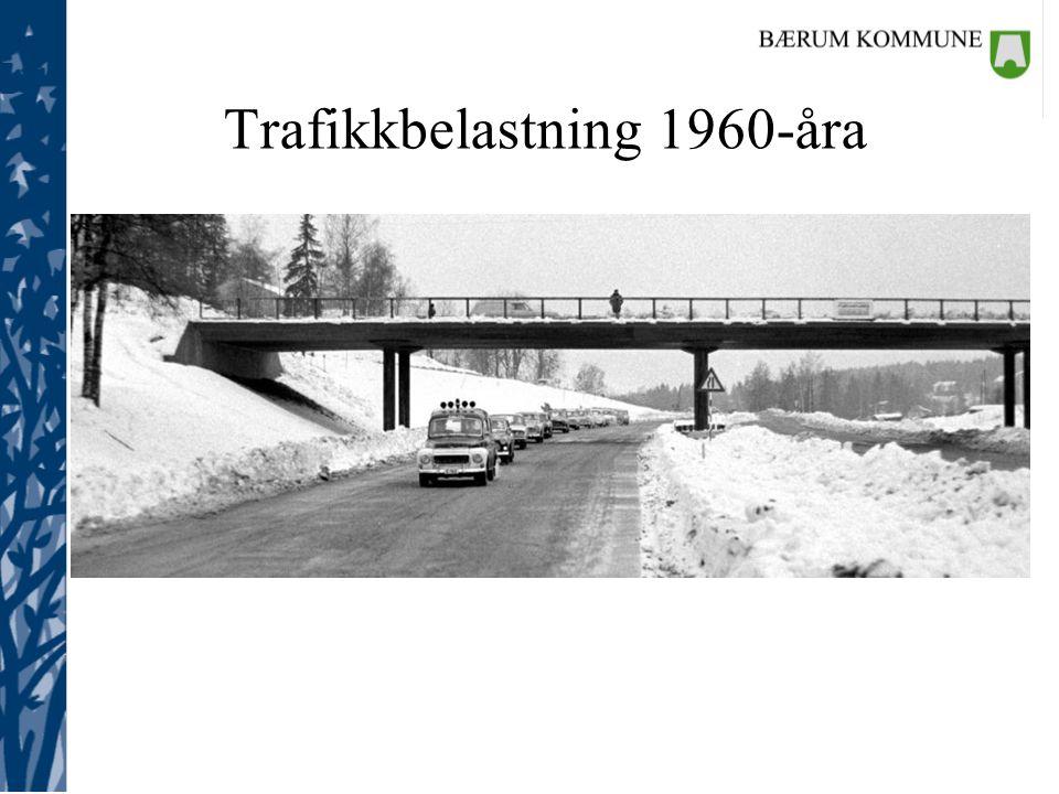 Trafikkbelastning 1960-åra