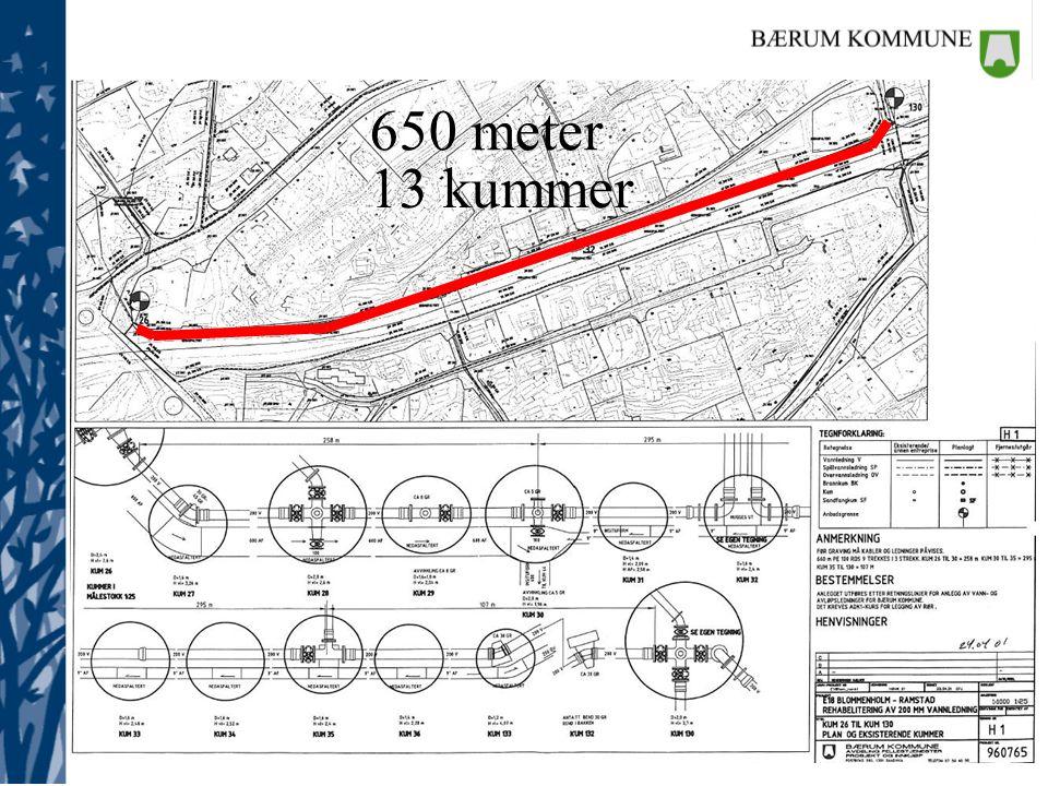 Gamle planer 650 meter 13 kummer