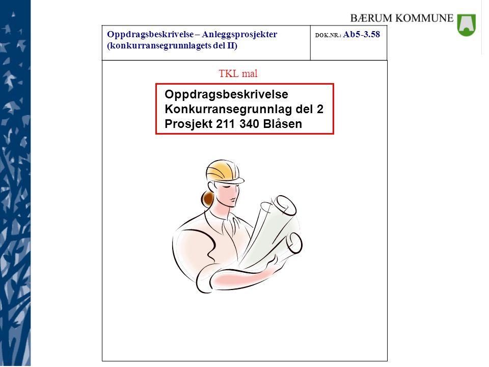 Konkurransegrunnlag del 2 Prosjekt 211 340 Blåsen