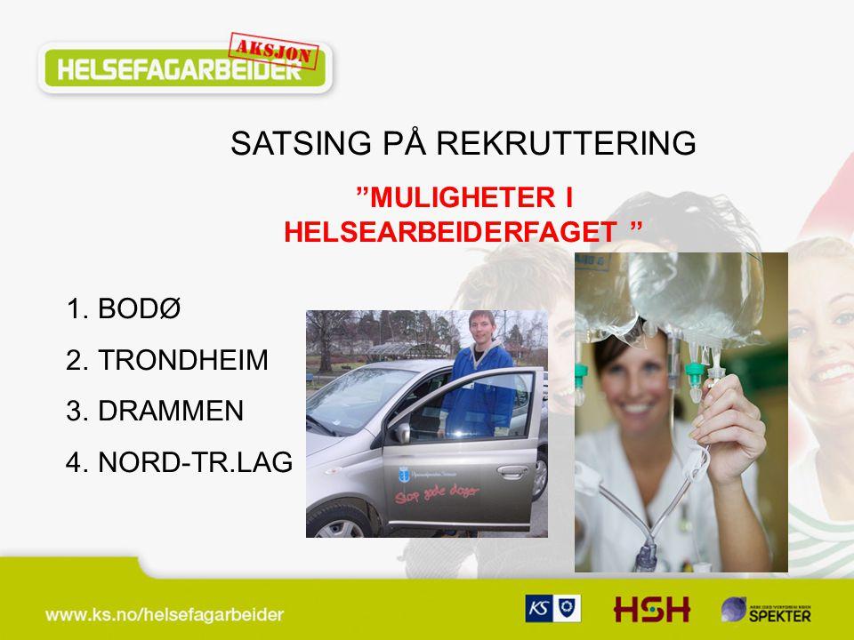 MULIGHETER I HELSEARBEIDERFAGET