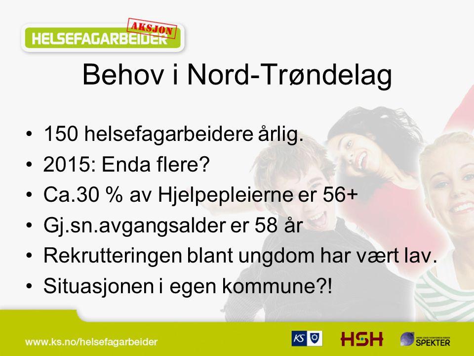 Behov i Nord-Trøndelag