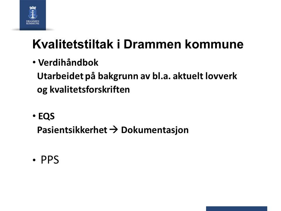 Kvalitetstiltak i Drammen kommune