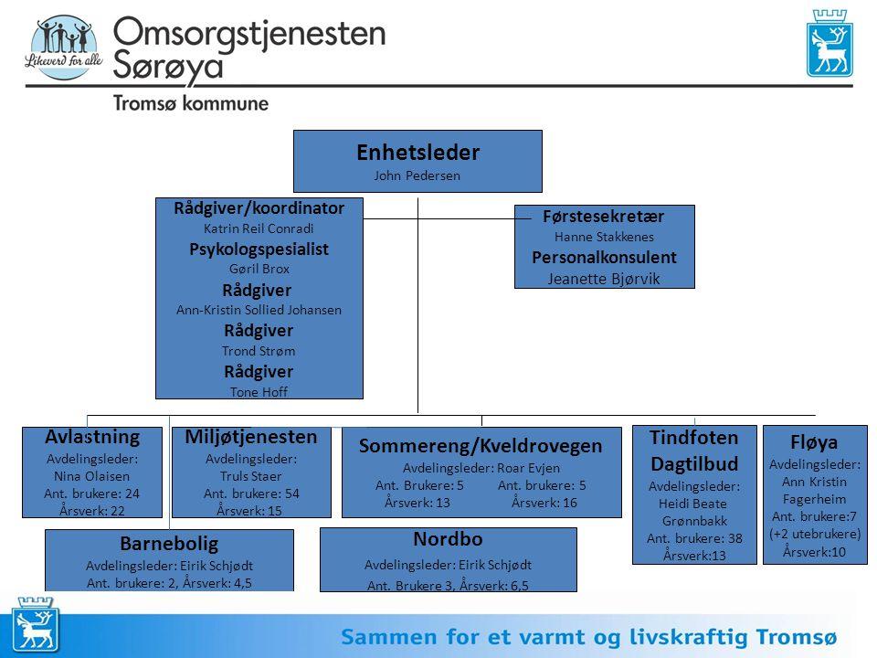 Rådgiver/koordinator Sommereng/Kveldrovegen