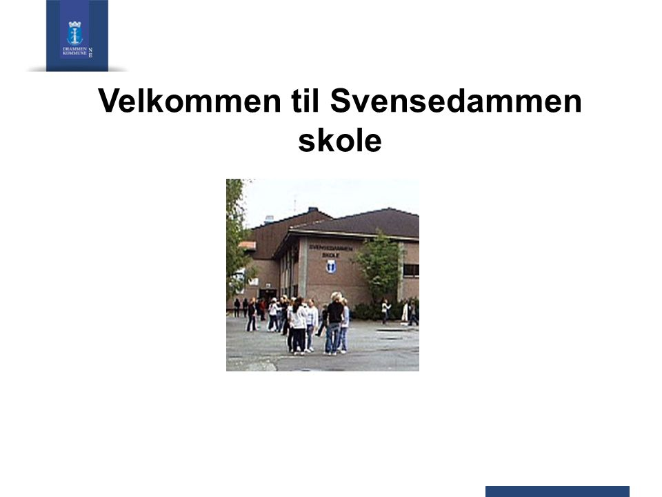 Velkommen til Svensedammen skole