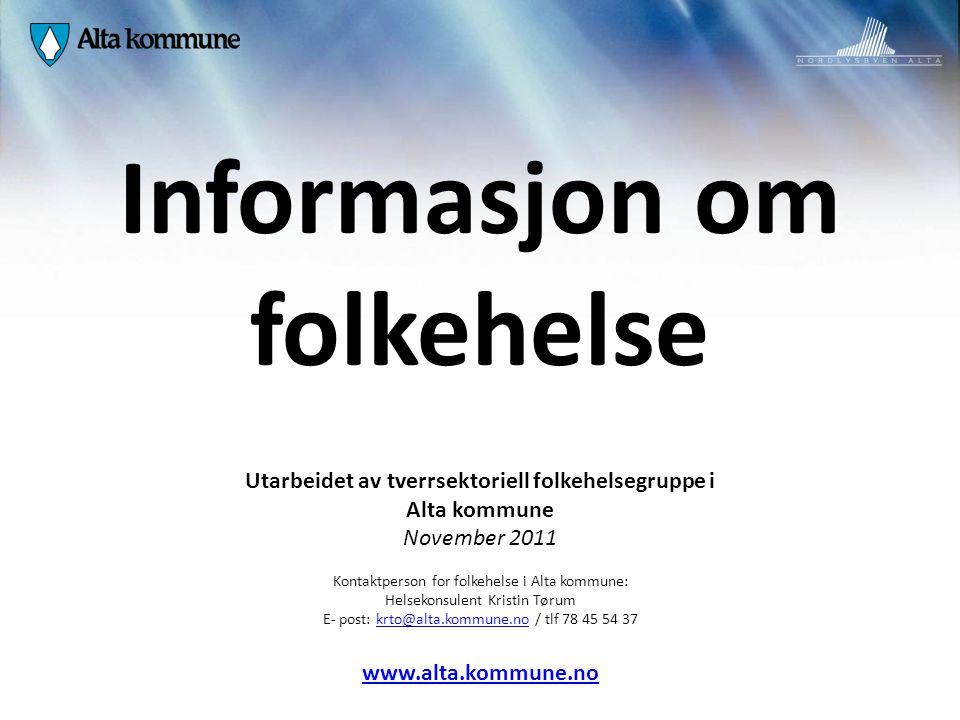 Informasjon om folkehelse