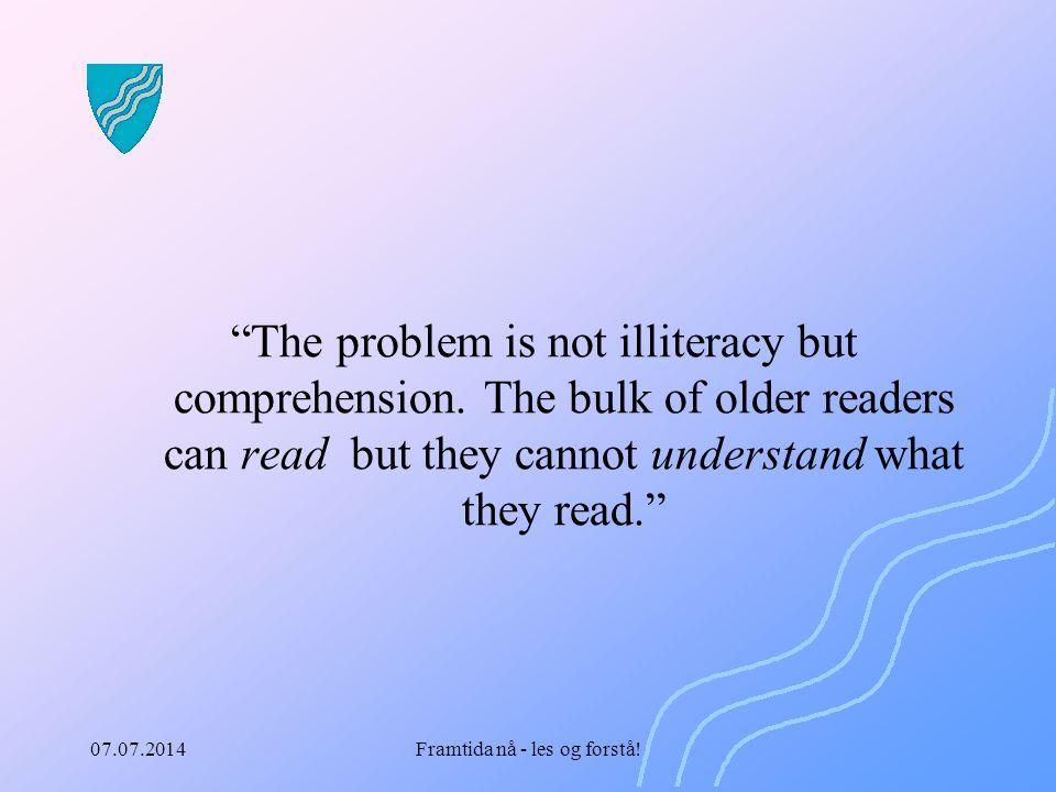 Framtida nå - les og forstå!