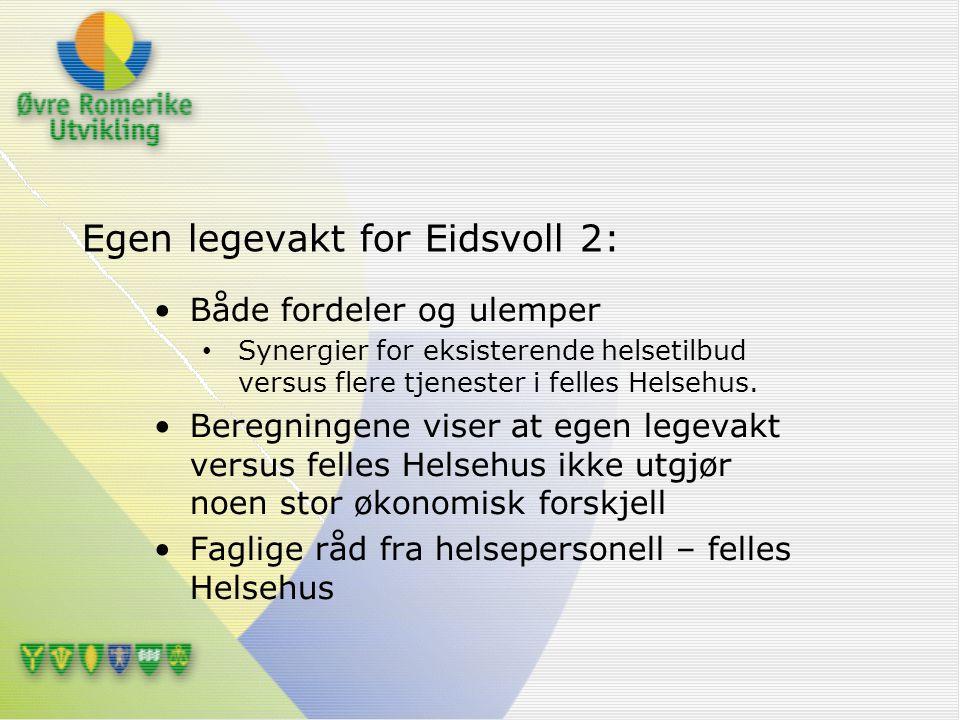 Egen legevakt for Eidsvoll 2: